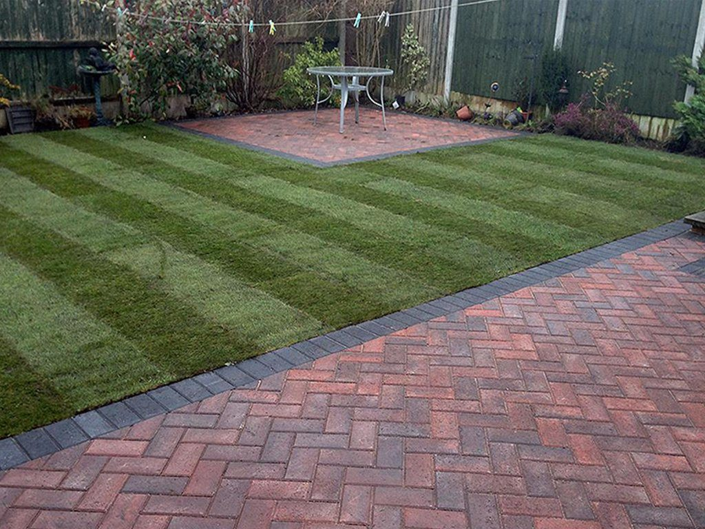Patio Laid By BM Paving in Leighton Buzzard
